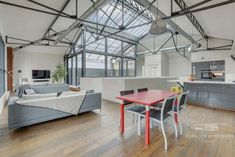 Bordeaux Luxury Loft for Sale Showroom, Luxury Loft, Luxury Property For Sale, Steel Structure, Industrial Loft, Triplex, Skylight, Ground Floor, Game Room