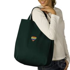 Hot Air Balloon Embroidered Tote Bags