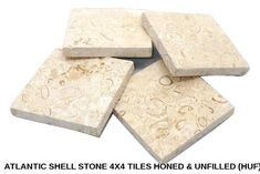 Atlantic Shell Stone is a True Shell Stone. Atlantic Shell Stone Available Sizes Atlantic Shell Stone Available Finishes Please enjoy these beautiful installation pictures sent from our clients, they are real pictures on real houses. Unlike other companies we don't use stock pictures! You can click on any picture to see it full size.