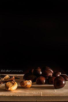 Cómo hacer Marrons Glacés - Bake-Street.com Baking, Fruit, Illustrations, Dark, Appetizers, Sweet Treats, Deserts, Homemade, How To Make
