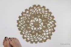 Centrino a crochet in spago – Is laura