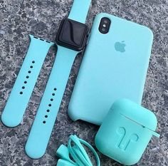 iPhone XS Apple Watch and AirPods Collection in Blue - Blue Iphone 8 Case - Ideas of Blue Iphone 8 Case. - iPhone XS Apple Watch and AirPods Collection in Blue Iphone 3gs, Coque Iphone, Iphone Cases, Iphone Macbook, Iphone Unlocked, Fone Apple, Airpods Apple, Apple Case, Accessoires Ipad
