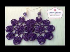 Haul dei miei 20 orecchini all'uncinetto più belli ! Ucciacreazioni My best crochet earrings ! - YouTube