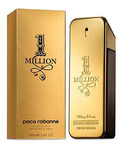 Paco Rabanne 1 Million Eau de Toilette, 3.4 oz - SHOP ALL BRANDS - Beauty - Macy's