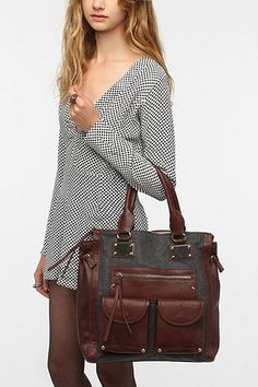 fe350fa93e84 Urban outfitter christmas 2012 Deena  amp  Ozzy Structured Tote Bag Deena  Ozzy
