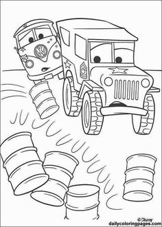 VW Bus And Military Jeep Coloring Page You Can Choose A Nice From Cars Pages For Kids Enjoy Our Free