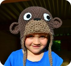 Cheeky LIttle Monkey hat pattern