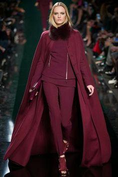 Sooo Chic! Beautiful designs from Paris Fashion Week: Elie Saab Fall 2014 RTW Collection.  #fashion #parisfashionweek #eliesaab #eliesaabfall2014 #fallfashion #womensfashion #evenigndress