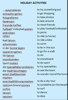 Deutsch holyday activities                                                                                                                                                                                 More