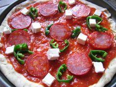 Pizza Chorizo Kiri