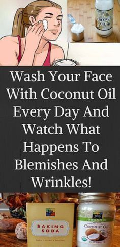 THIS IS WHAT HAPPENS TO YOUR FACE AFTER WASHING IT WITH COCONUT OIL AND BAKING SODA !