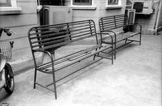 Public vented benches