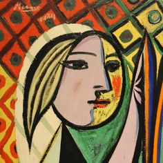 Girl before a Mirror (detail) by Pablo Picasso