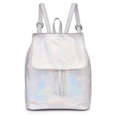BABY GOT BACKPACK SILVER (£20) ❤ liked on Polyvore featuring bags
