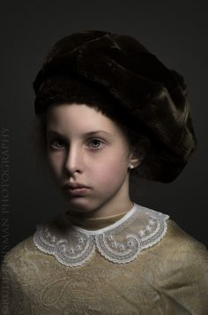 Golden age paiting Style photo portrait. By Rudi Huisman Photography