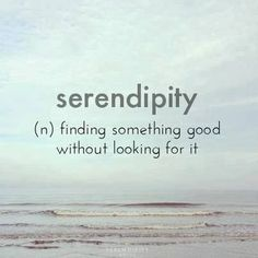 the meaning of serendipity.. - via: http://www.marcandangel.com/2012/04/02/10-signs-its-time-to-let-go/