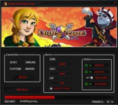 Knights and dragons hack tool cheats no survey or password for free download. Get infinite gold, coins, gems by using Knights and dragons hack for android.