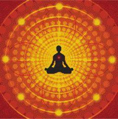 Meditation Cross Stitch Pattern