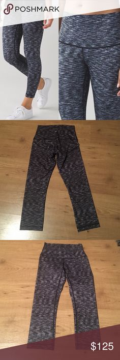 Lululemon high times fullux 7/8 Size 6 perfect condition new without tags !! The material is Fullux 7/8 length lululemon athletica Pants