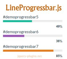 LineProgressbar – jQuery Line Progress Bar Plugin #progress #loading #lightweight #jQuery #progressbar #lineprogress