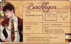 EXO for harry potter :D Baekhyun