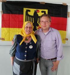 Offene SEO Vorlesung 2014 an der Hochschule Darmstadt, Stargast Frau Rauscher mit Paul Dylla