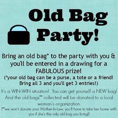 Cute party idea for all my Thirty-One or Initials Inc. consultants.