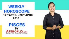#Pisces - #Weekly #Horoscope for 17th to 23rd #April 2016 #astrology #Zodiac