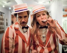Two of my favorite things on earth, Paul F. Tompkins and Jessica St. Clair
