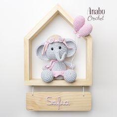Crochet Baby Toys, Crochet For Kids, Free Crochet, Baby Crafts, Diy And Crafts, Baby Decor, Shadow Box, Diy Art, Margarita
