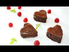 Corazones de Chocolate rellenos de Mousse de Chocolate | Auxy Ordonez - YouTube