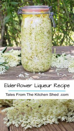 Capture the taste of summer with my Elderflower Liqueur recipe. Freshly picked elderflowers, vodka & lemon work their magic - et voila homemade St Germain!