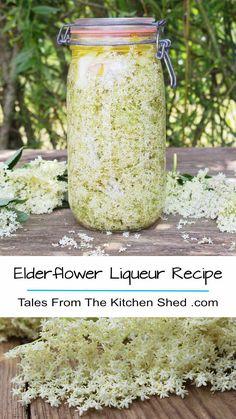 Capture the taste of summer with my Elderflower Liqueur recipe. Freshly picked elderflowers, vodka