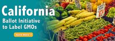 Get Involved With The Effort To Label Genetically Modified Foods. California Petition Needs 500,000 Signatures To Make The 2012 Election Ballot ! http://j.mp/LabelGMOs