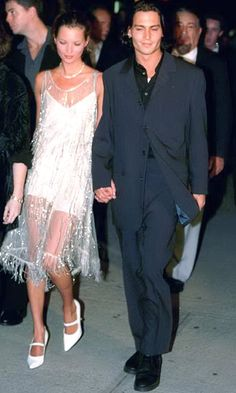 kate moss and johnny depp - I would wear that to either prom or homecoming if I could.