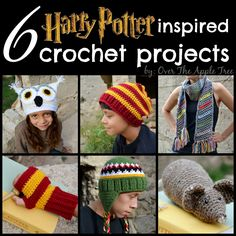 Over The Apple Tree: Harry Potter Inspired Crochet Projects