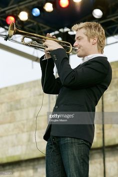 Musician Chris Botti performs at the JVC Jazz Festival Newport,. Chris Botti, Newport, Festival Jazz, Jazz Trumpet, Then Sings My Soul, Trumpet Players, Heart Songs, Smooth Jazz, Together Forever