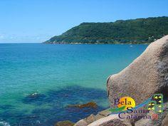 Praia da Lagoinha em Florianópolis - www.belasantacatarina.com.br/florianopolis/
