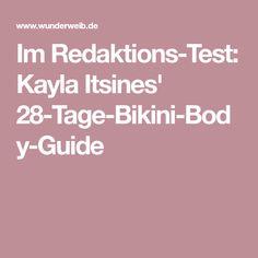 Im Redaktions-Test: Kayla Itsines' 28-Tage-Bikini-Body-Guide