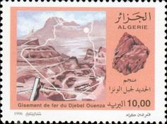 Argelia 1996 - Mina de hierro de Djebel Ouenza