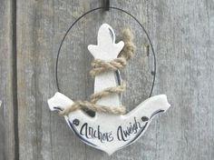 Anchor Party Favor Salt Dough Ornament