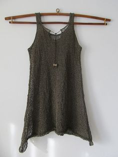 Pretty knit tank top