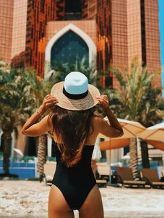 The place to be this to get some and # fun ☀️ ------ Thanks for sharing your photo! Staycation, Luxury Lifestyle, Panama Hat, Your Photos, Relax, Swimming, Beach, Summer, Sun