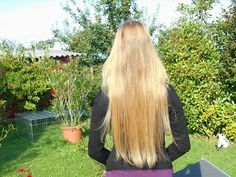 believe it or not: thin long hair can look that gorgeous (ponytailcircumference of 6cm)