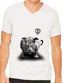 Tigre V-Neck by Just Daddy