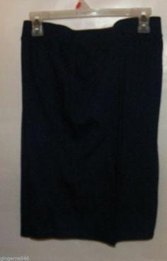 Navy Blue Shorts Size 4X (26w/28w) JMS Plus Cotton NWT Just My Size