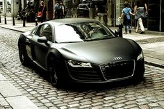 Audi R8 - Matte Black  Must have one!