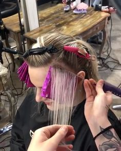 I loooove a traditional highlight! I loooove a traditional highlight! Hair Cutting Techniques, Hair Color Techniques, Hair Foils, Hair Color Formulas, Hair Upstyles, Braids For Long Hair, Balayage Hair, Haircolor, Hair Transformation
