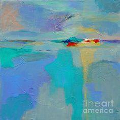 """Sunset Serenade #001"" http://donna-frost.artistwebsites.com/ abstract painting"