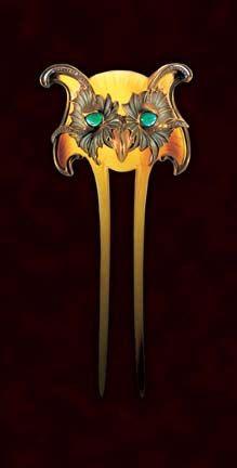 Owl comb...